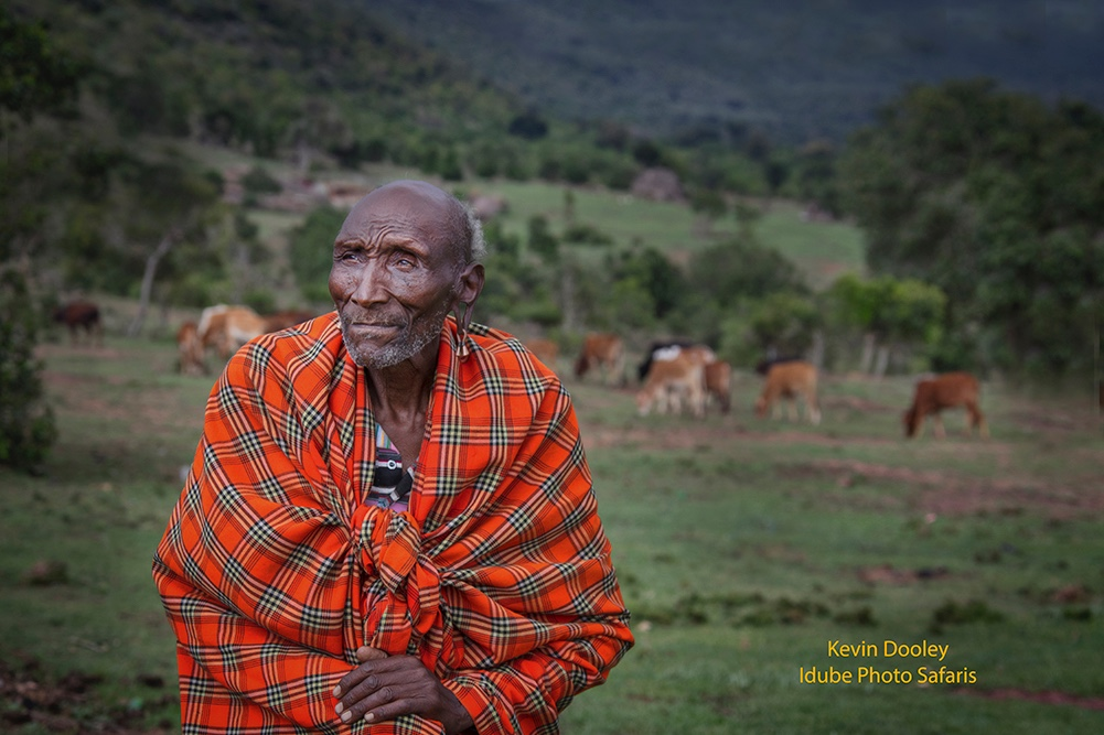 Masai Chief Photography